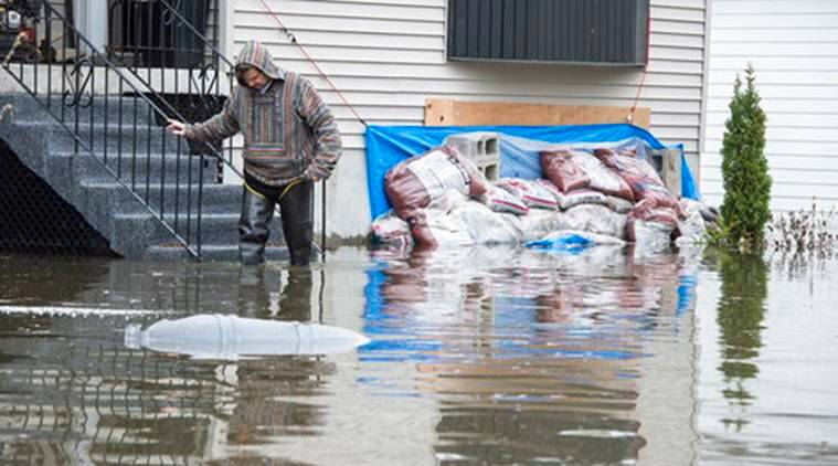 Canada floods, Canada devastating floods, Canada army, Canada's floods, Canada, World News, Latest World News, Indian Express, Indian Express News