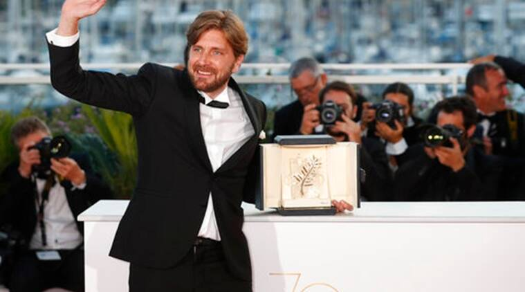 cannes 2017, cannes Palme d'Or, Ruben Ostlund, Swedish film, satire, The Square, Palme d'Or, Sofia Coppola, Cannes Film Festival 2017, cannes india, cannes films, entertainment news, indian express, indian express news
