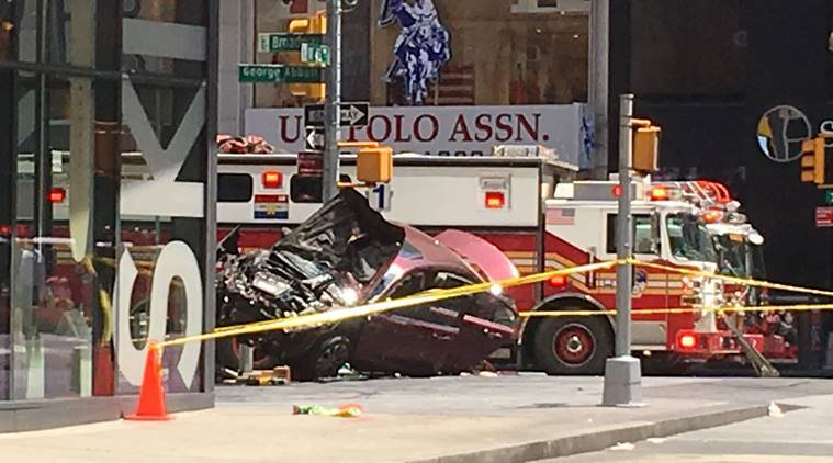 US veteran charged over deadly Times Square crash