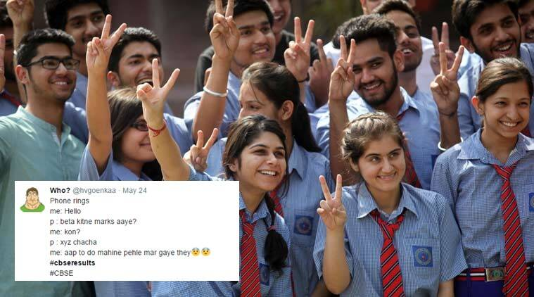 CBSE 12 results, cbse results 2017, twitter reactions on cbse results, twitter reacts on class 12 cbse results, students react to cbse results, indian express, indian express news