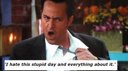 Chandler Bing's sarcasm and wit to help you keep going on Mondays