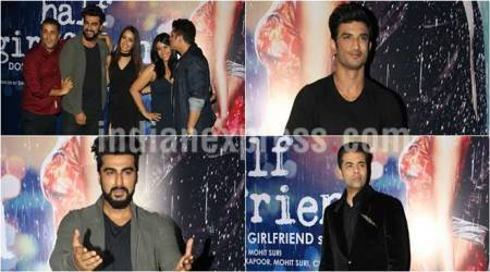 Half Girlfriend success party: Arjun Kapoor, Shraddha Kapoor celebrate with Karan Johar, Sushant Singh Rajput and others