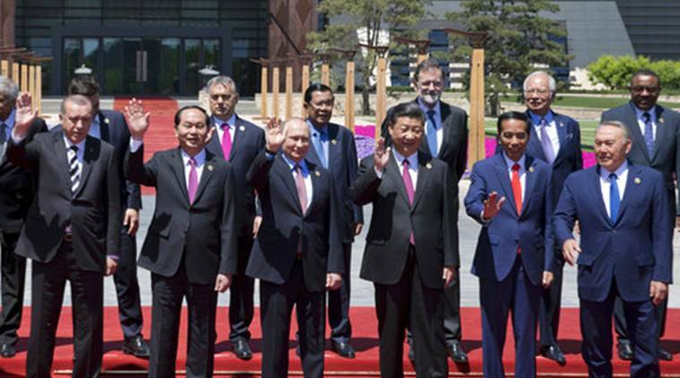 China's Belt and Road Forum, Beijing China's Belt and Road Forum, President Xi Jinping, Chinese President Xi Jinping, India, Indian Express, Indian Express News