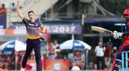 chris woakes, kolkata knight riders, ipl 2017, champions trophy, icc champions trophy, indian premier league, england champions trophy, chris woakes england, england vs south africa, south africa vs england, eng vs sa, england vs sa, sa vs england, cricket news, cricket, sports news, indian express