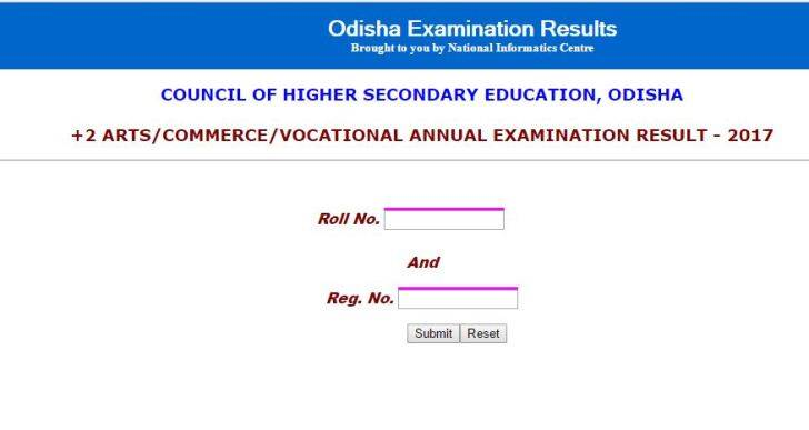 www.chseodisha.nic.in, +2 results, odisha +2 result 2017, orissaresults.nic.in