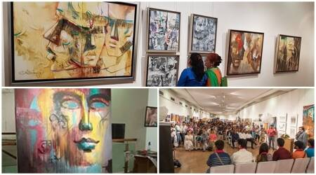 art, art and culture, delhi collage of art school, painting, painting events, love for arts, arts festival, painters, indian painters, indian express, indian express news