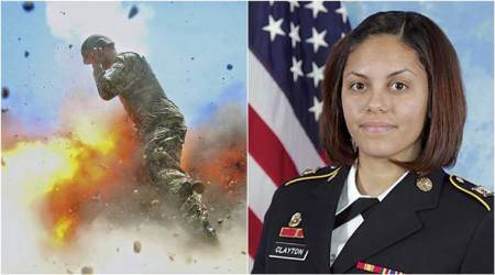 US Army photographer captures her own death in mortarexplosion