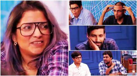 tanmay bhat, aditi mittal, kanan gill, biswa kalyan rath, comedian, comedy club, sexism in comedy industry, film companion, anupama chopra, indian express, indian express news