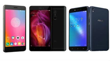 Asus Zenfone Live vs Xiaomi Redmi 4 vs Lenovo K6 Power: Key specifications and features