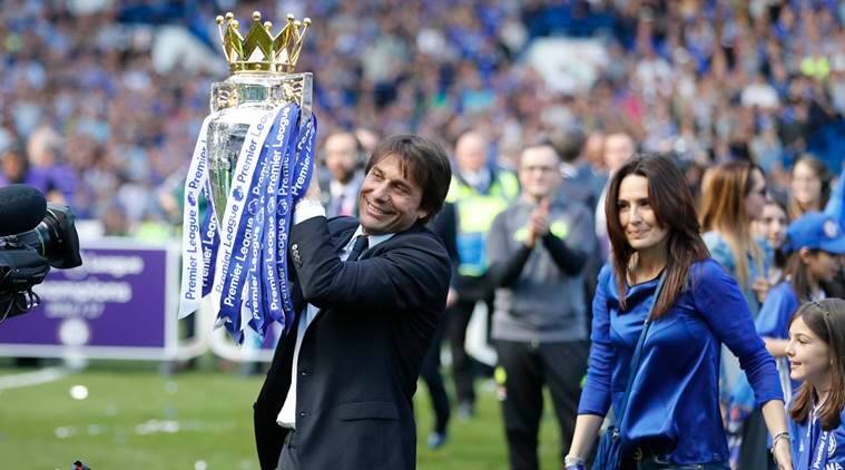 Antonio Conte, Conte, Chelsea, Premier League title, Conte Manager of the year, Antonio Conte Manager of the Year, football, sports news, Indian Express