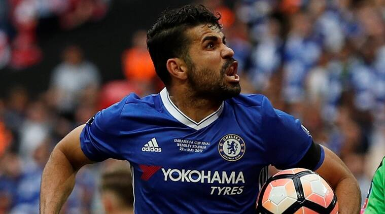 chelsea, diego costa, atletico madrid, brazil, spain, costa, arsenal, fa cup, premier league, football, sports news, indian express