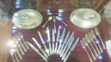 Railway Museum at Chatrapati Shivaji Terminus: Silver cutlery, antique clocks and other relics of a long journey