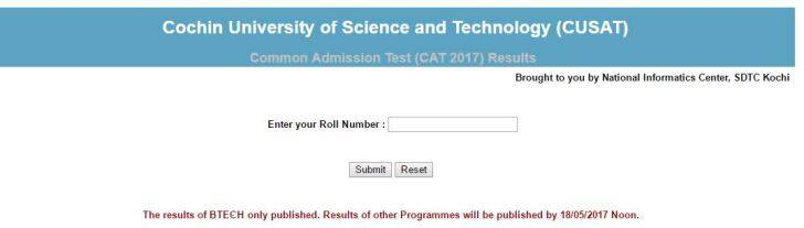 cusat, cusat.ac.in, cat 2017, cusat result 2017, calicut university, keam 2017, cusat results, cusat cat, cusat cat result, cuast 2017 result, cusat cat results, indian express, cusat news, education news, kerala news,