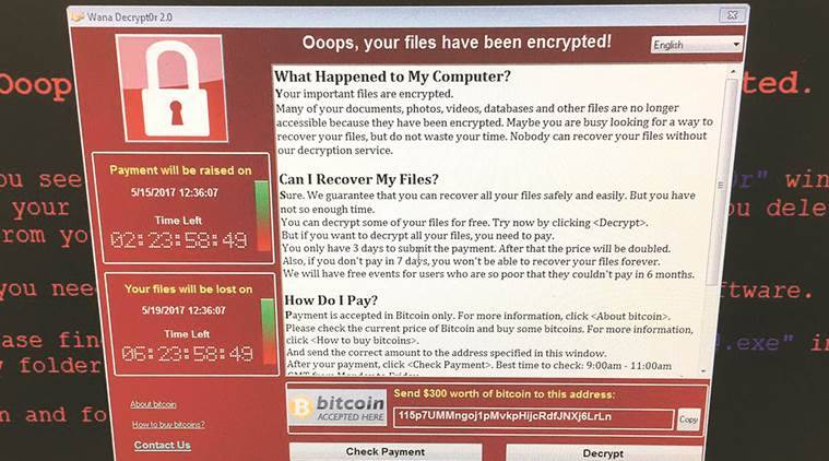 Wannacry ransomware, ransomware, what is Wannacry, , cyber crime, cyber attack, how to stop Wannacry, Wannacry ransomware attack, Wannacry attack, cyberattack, ransomware attack, Windows, Microsoft, NHS cyberattack, technology, technology news