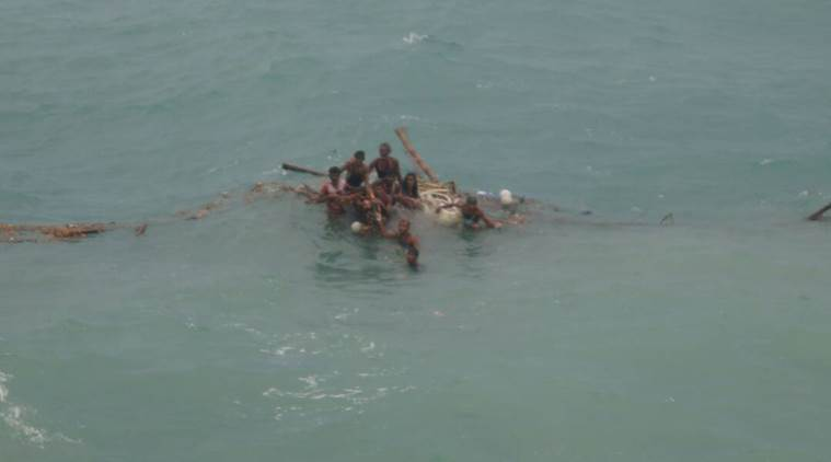 Cyclone Mora, Cyclone Bangladesh, Indian navy cyclone, India News, Indian Express, Indian Express News
