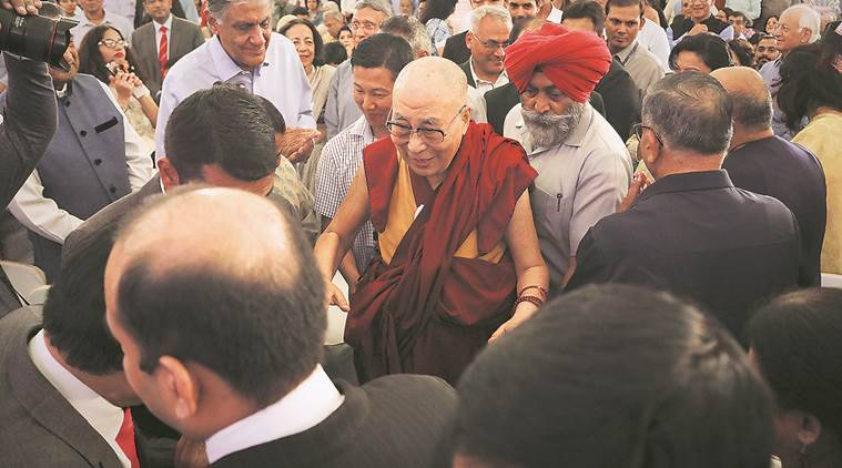'Hindi Chini Bhai Bhai', Doklam standoff not very serious: Dalai Lama