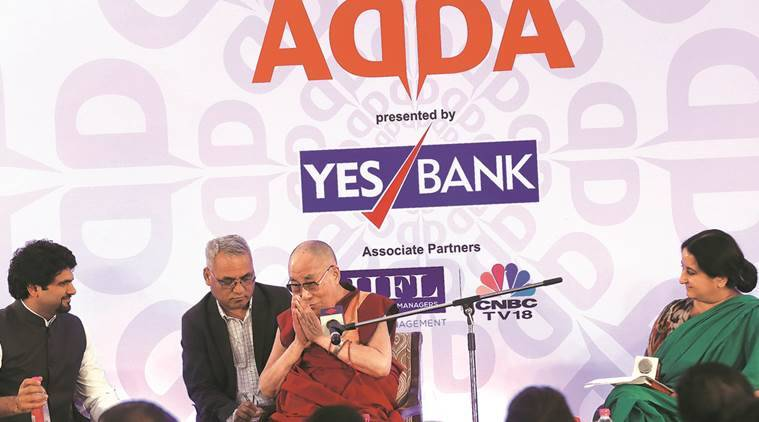 Dalai Lama, Dalai Lama Express Adda, India China relations, indo china war, india tiber relations, india news