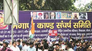 Came Here From Haryana's Bhagana: The 'other' Dalit protest at Jantar Mantar