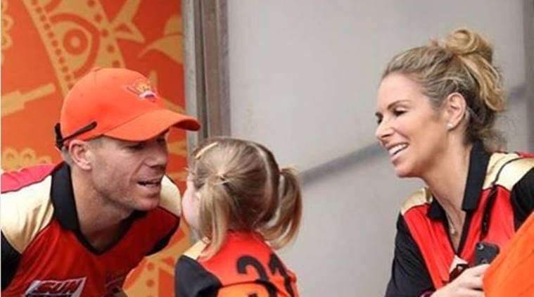 sunrisers hyderabad, srh, david warner family, david warner daughter, david warner, warner, srh ipl, ipl 2017, ipl points table, cricket news, cricket, sports news, indian express