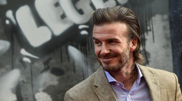 David Beckham, Beckham, England, Manchester United, Man United, football retirement, Paris St Germain, PSG, Real Madrid, football, sports news, Indian Express
