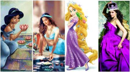 Deepika Padukone re-imagined as Disney princesses: From Snow White to Cinderella