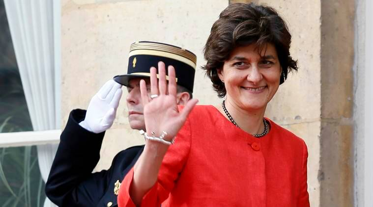 French Defence Minister, Sylvie Goulard, French Defence Minister Resigns, Sylvie Goulard Resigns, French Defence Minister Sylvie Goulard Resigns, World News, Latest World News, Indian Express, Indian Express News