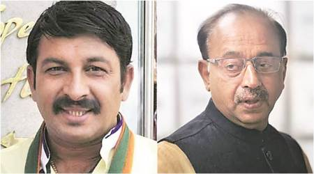 Manoj Tiwari, Vijay Goel tussle could explain why BJP has no Leaders of House
