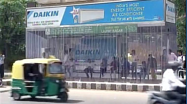 Delhi Gets Its First Ever Ac Bus Stand In Lajpat Nagar -6971