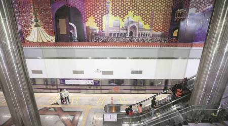 Selfies amid old Delhi culture: Metro Heritage Line thrown open to public