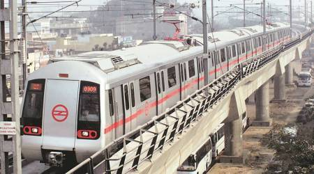 Delhi Metro begins dust control drive across construction sites