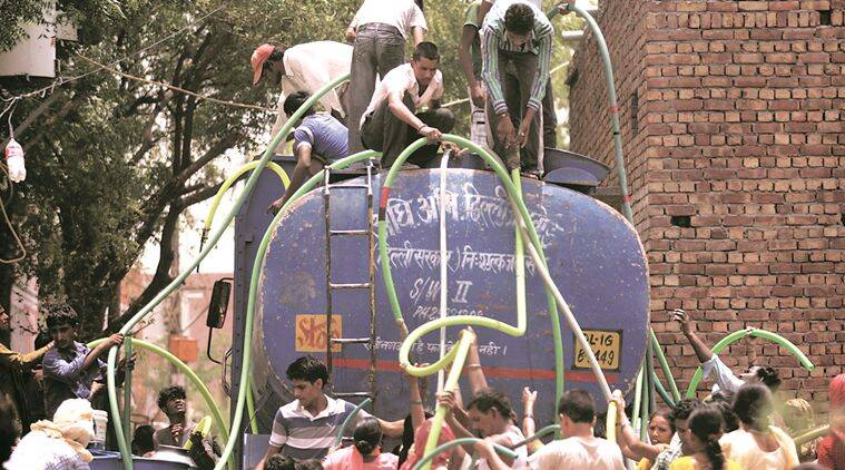 pune municipal corporation, PMC, water tankers, outdated water tanker, drinking water, drinking water scarcity, Pune news, indian express