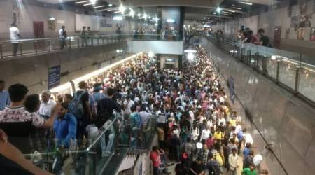 Signalling glitch affects Delhi Metro's Violet Line services