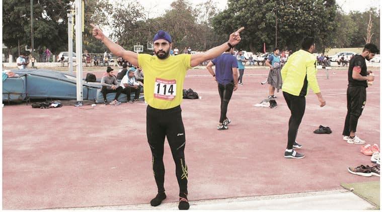Devender Singh, Indian GP, Javelin thrower Devender Singh, Indian Athletics Grand Prix, London World Championships, Samarjeeth Singh, Rajender Singh, India news, National news, Sports news, India Sports news,