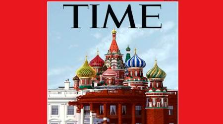 Time magazine's latest cover: Russia's onion domes take over White House