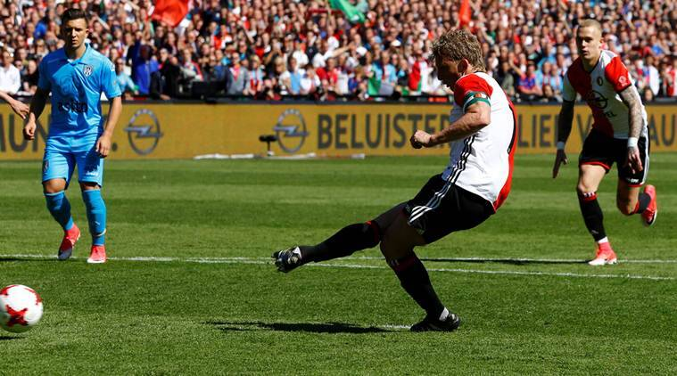 Dirk Kuyt, Dirk Kuyt news, Dirk Kuyt updates, Feyenoord, Feyenoord news, Davy Klaassen, Ajax, sports news, sports, football news, Football, Indian Express
