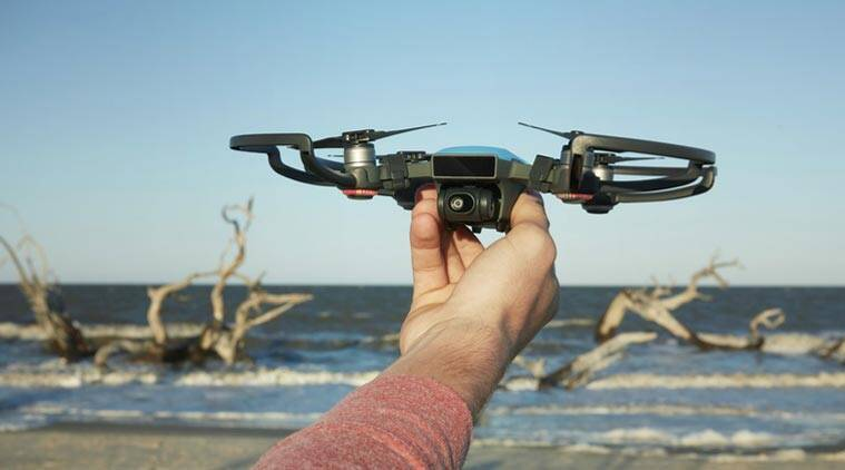 Newe drone fits in the palm of your hand