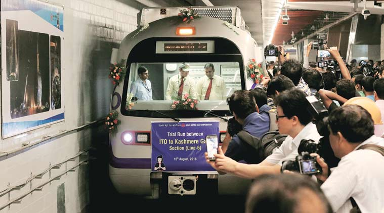 delhi metro news, dmrc news, india news, indian express news