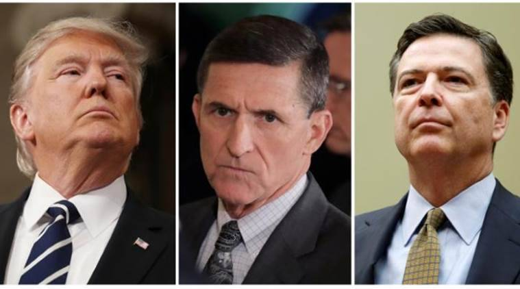 Donald Trump, James Comey, Michael Flynn, investigation into Michael Flynn, Donald Trump firing James Comey, James Comey and Micheal Flynn, Micheal Flynn investigation, Micheal Flynn investigation closure, US news, World news, latest news,