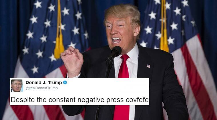 donald trump_file_759 donald trump's confusing 'covfefe' tweet results in hilarious memes