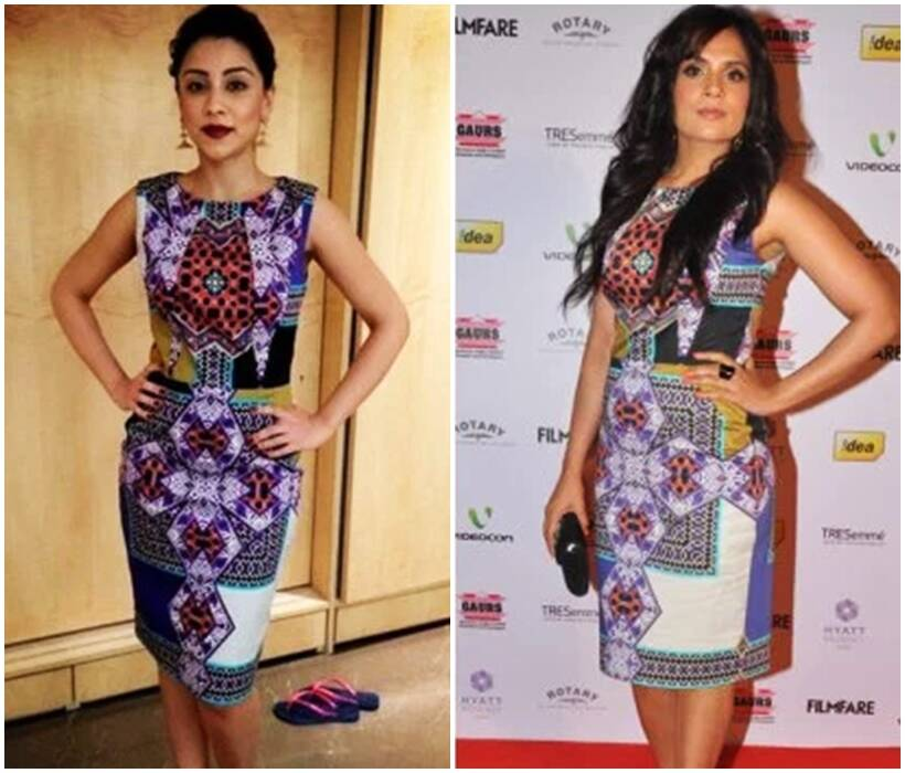 duplicate dress, copycat bollywood actresses, bollywood actresses same dresses, same outfits bollywood divas, deepika padukone copy cat, priyanka chopra, sonam kapoor, kangana ranaut, actresses who wore the same dress, fashion, lifestyle, indian express, indian express news