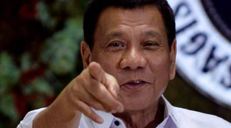 Philippine president vows to resign if anybody can prove God exists