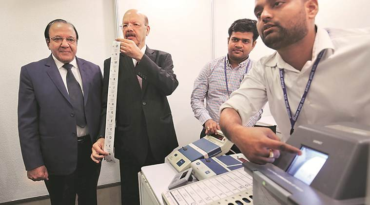 Govt said buy VVPATs from private sector, Election Commission said no, will hurt public faith