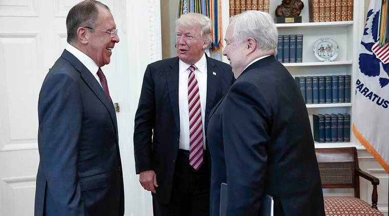 Donald Trump, Trump Classified information, Trump reveals information, Trump Russians, Trump ties with russians, ISIS information, russian spy, Latest US stories, Indian express news, India news, US news, World news