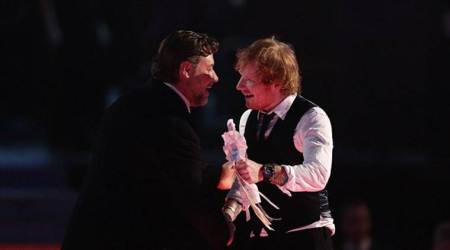 Is Ed Sheeran engaged? Russell Crowe lets it slip
