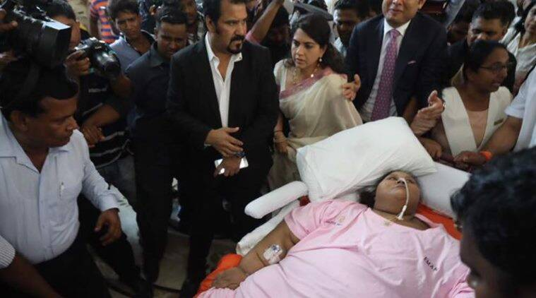 'World's heaviest woman' leaves Indian hospital 325 kg lighter after stomach stapling