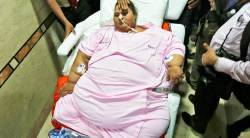 eman ahmed, eman ahmed passes away, worlds heaviest woman, eman ahmed dead, eman ahmed passes away, worlds heaviest woman, worlds heaviest woman passes away, egypt heaviest woman, eman ahmed egypt