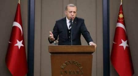 Recep Tayyip Erdogan threatens not to ratify Paris climateaccord