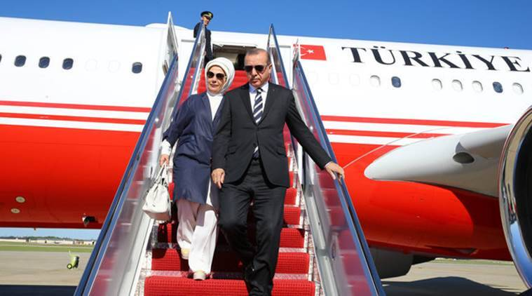Donald Trump, US President Donald Trump, Turkey president Tayyip Erdogan, Tayyip Erdogan US, Tayyip Erdogan Washington, Trump Erdogan, US Turkey, US news, World news, Indian Express