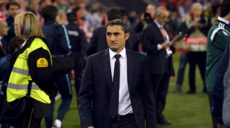Ernesto Valverde, Athletic Bilbao, Copa del Rey, barcelona, barca, athletic, Espanyol, Olympiakos, Villarreal, Valencia, football, sports news, indian express