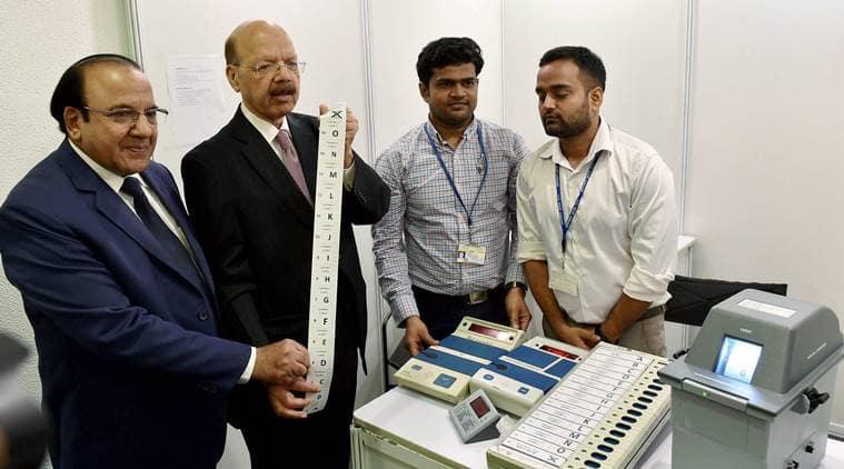 EVM, electronic voting machine, evms, aam aadmi party, evm hacking, hacking, evm tampering, evm reliability, evm manipulation, evm hackathon, naseem zaidi, india news, indian express